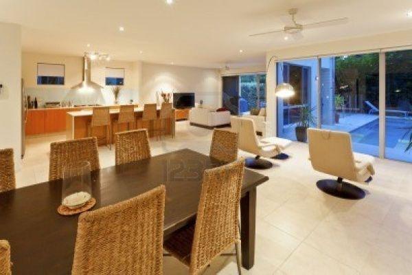 Integrar en un salon el living la cocina y el comedor for Decoracion de living comedor integrados