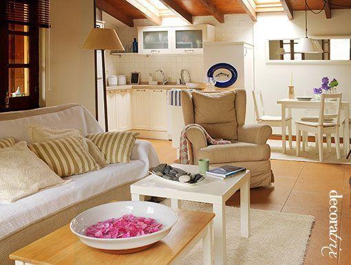 Livin cocina comedor sencillo y bien decorado casa web for Decoracion de sala comedor y cocina
