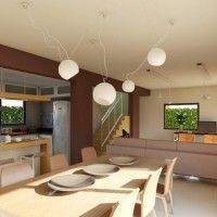 Integrar la cocina con livig comedor | Casa Web