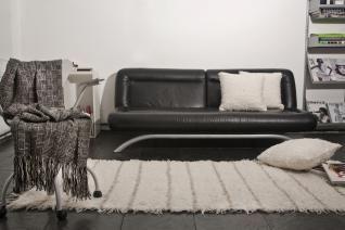 mantones de lana pura tejidos en telar