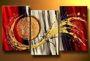 pinturas decorativas modernas