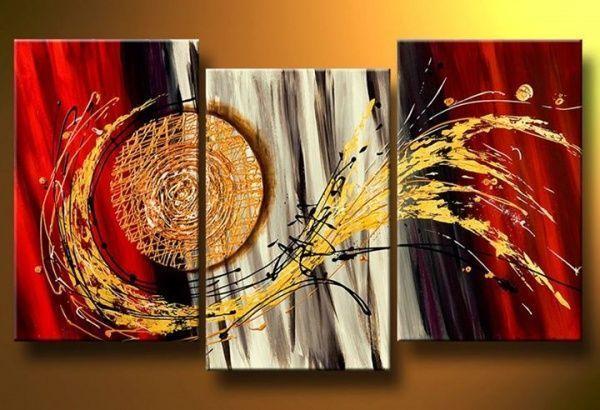 Cuadros decorativos casa web for Fotos de cuadros abstractos al oleo