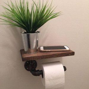 portarollo papel baño