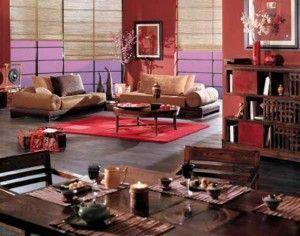 una alfombra roja para darle vida a una sala oscura