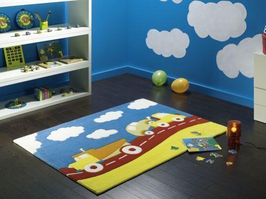 alfombra para dormitorio infantil de niño