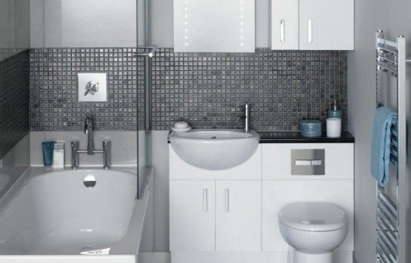 baño chico y moderno