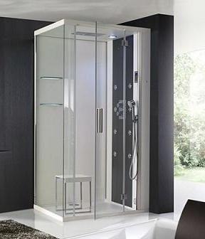 Ba os modernos con ducha con mampara casa web - Duchas modernas para banos ...