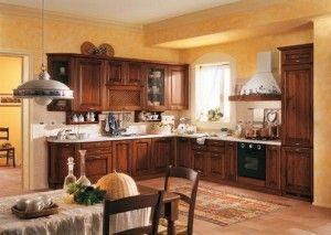cocina comedor con muebles de algarrobo