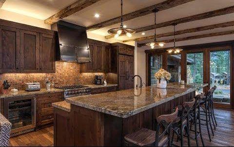 cocina moderna y rustica con muebles de algarrobo e1523043733796