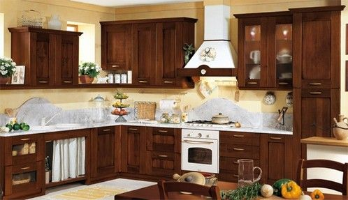 Muebles para cocina de algarrobo casa web for Cocinas pequenas rusticas