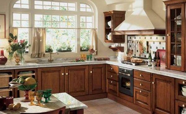 Muebles para cocina de algarrobo casa web for Muebles estilo italiano
