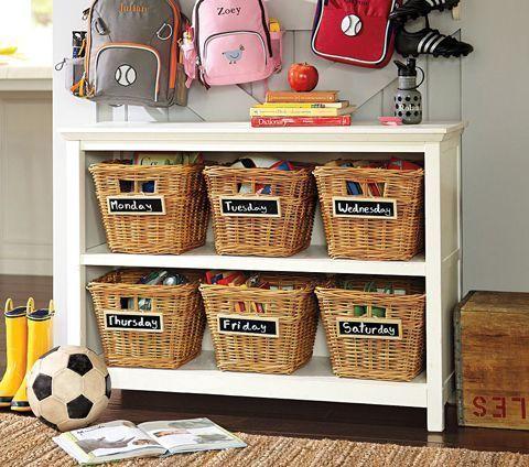 Como organizar los juguetes de los ni os casa web - Cestas para guardar juguetes ...