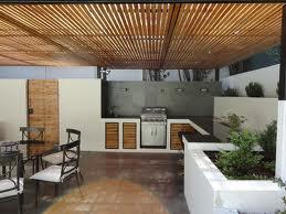 Dise o de quinchos modernos casa web for Falso techo rustico