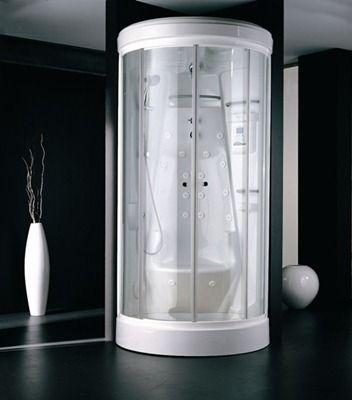 Ba os modernos con ducha con mampara casa web for Duchas para banos precios