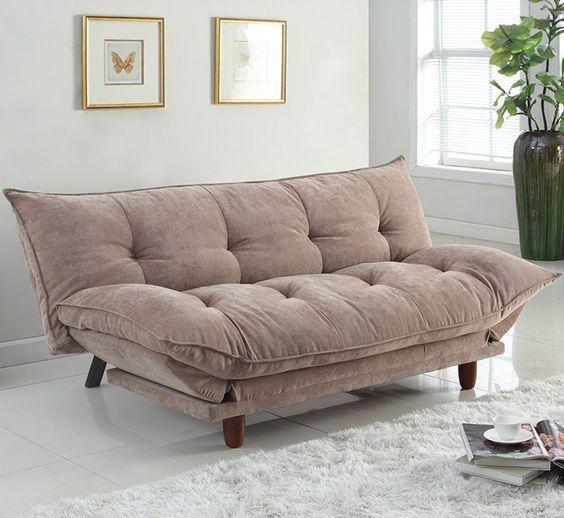 futon alcolchonados para sala de estar