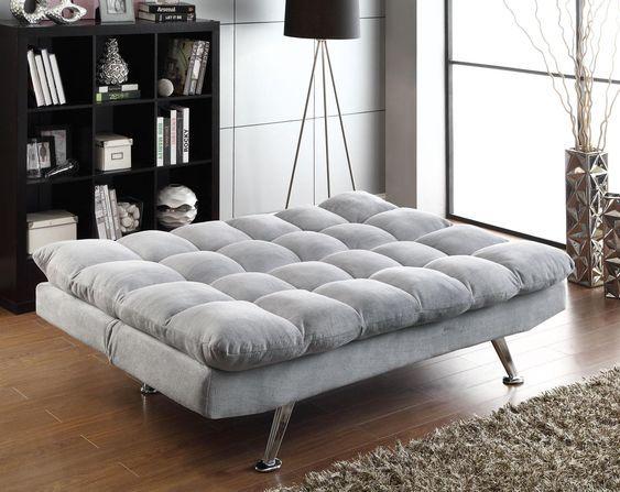 futon moderno para living