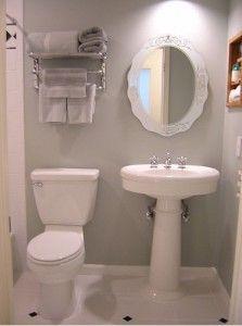 ideas para baño pequeño