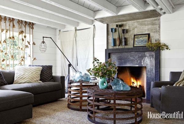 Decoracion estilo vintage casa web - Celebrities live small old stylish homes ...