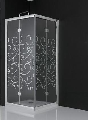 Ba os modernos con ducha con mampara casa web - Mamparas de ducha de diseno ...