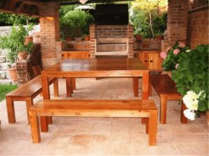 mobiliario para quinchos