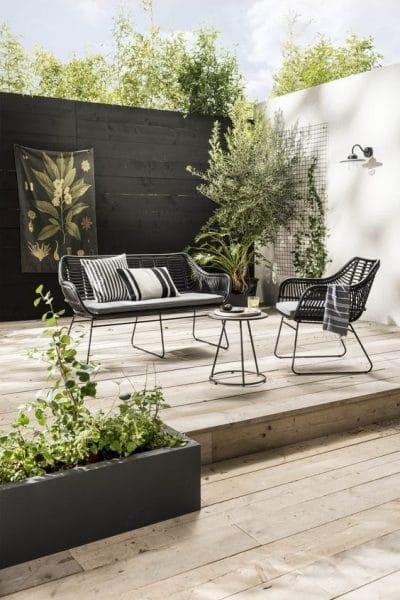 muebles de exterior para jardin