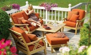 muebles de madera para exterior