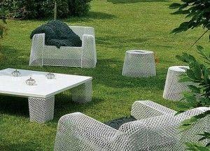 muebles para exteriores de acero inoxidable