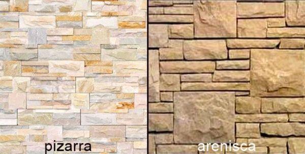 Piedras lajas para exterior casa web - Revestimientos para paredes exteriores en piedra ...