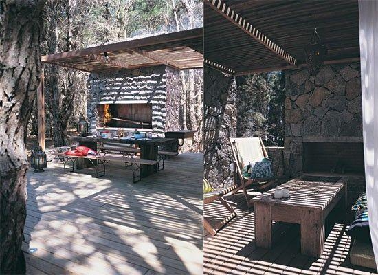 Dise o de quinchos modernos casa web for Parrilla casa de campo