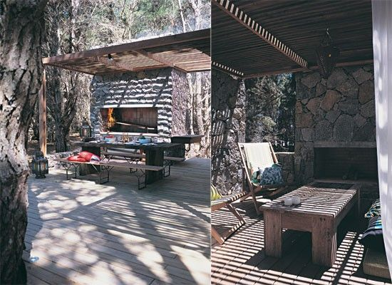 Dise o de quinchos modernos casa web for Guarda cosas para jardin