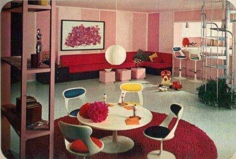 Sala Retro Vintage Casa Web