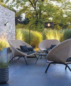 sillones de exterior modernos para arin