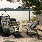 sillones de hierro modernos para jardin