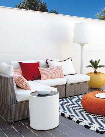 Decoracion de terrazas casa web - Pintar terraza ...