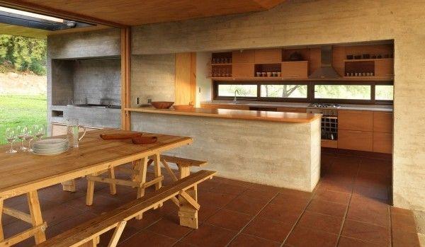 Dise o de quinchos modernos casa web for Quiero ver cocinas