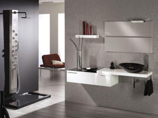 Decoracion De Baño Minimalista:Mas fotos en Diseño de muebles para baños modernos