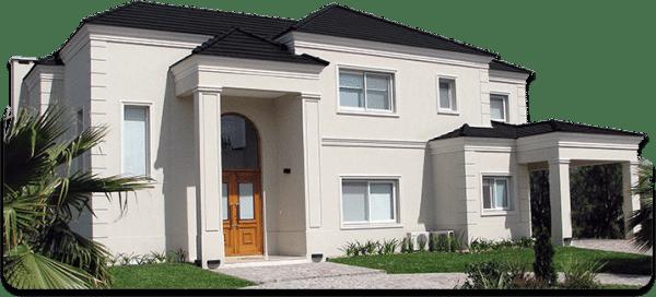 Casa cubierta con revestimiento plastico casa web for Ideas pintura exterior casa