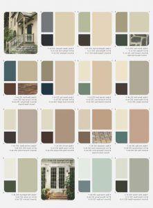 combinacion de colores de pintura exterior para casas