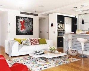 decoracion de apartamento pequeño