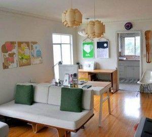 decoracion sencilla de departamento pequeño