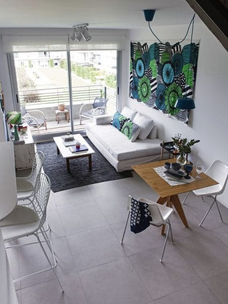 decoracion tonos claros para departamento pequeño