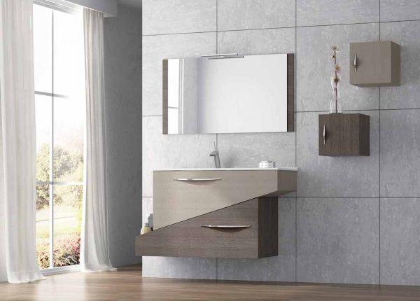 diseños modernos de muebles para baños