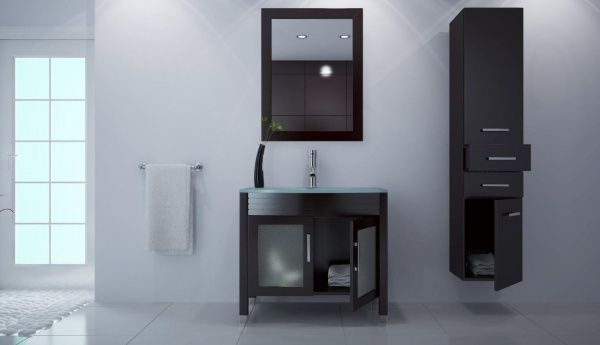 Baños Diseno Muebles:Bathroom Cabinets and Shelves