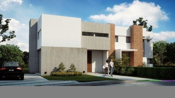 Exterior casa de semento alisado casa web for Exteriores de casas modernas