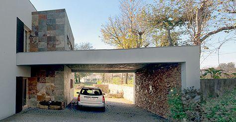 Pintura para exterior de casas tipos y colores casa web for Frentes de casas modernas con piedras