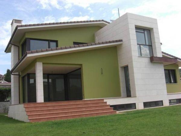 Pintura para exterior de casas tipos y colores casa web for Disenos para frentes de casas