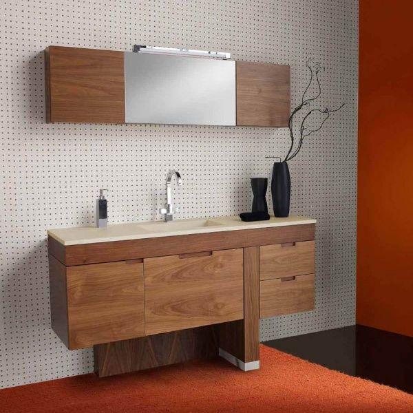 Dise o de muebles para ba os modernos casa web for Diseno de muebles de madera modernos