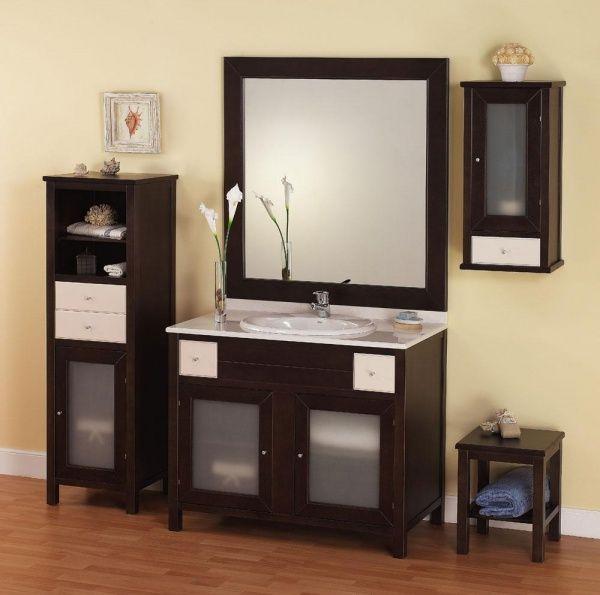 Dise o de muebles para ba os modernos casa web - Mobiliario para banos pequenos ...