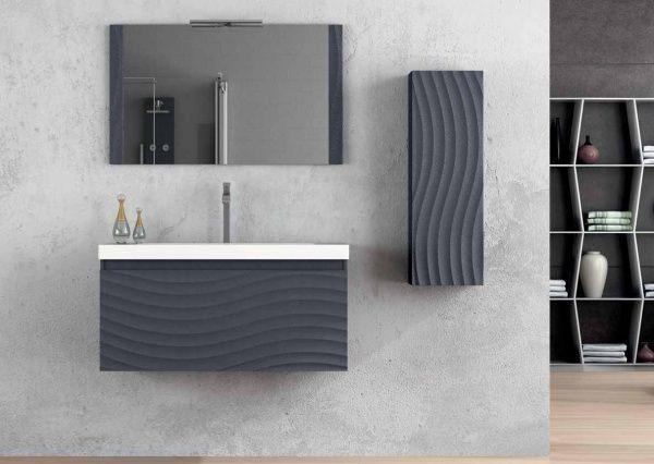 Muebles para ba o minimalista casa web for Muebles de bano de diseno modernos