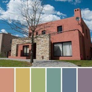 Pintura para exterior de casas tipos y colores casa web for Paleta de colores para interior de casa